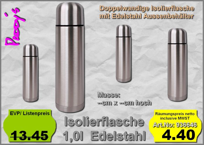 Isolierflasche 1l