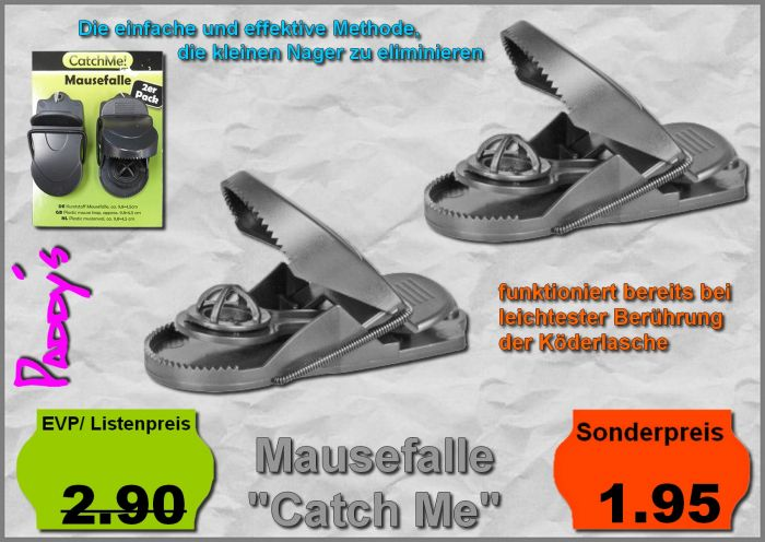 Mausefalle Catch me