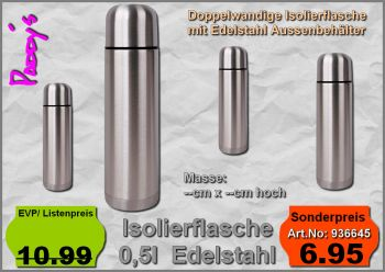 Isolierflasche 0,5l